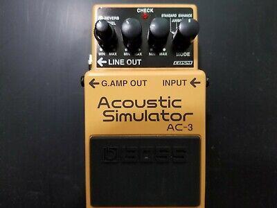 Boss AC-3 Acoustic Guitar Simulator Pedal