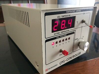 Shimadzu Cps-240a Lab Thermoelectrical Temperature Controller