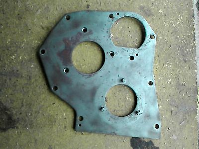 John Deere M Mt Mc 40 Tractor Part - Engine Front Plate Cover