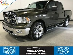 2012 RAM 1500 SLT HEMI, 4WD, REARVIEW CAMERA