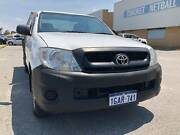 2011 TOYOTA HILUX WORKMATE MY11 UPGRADE*1 YEAR WARRANTY**LOW KMS* Maddington Gosnells Area Preview