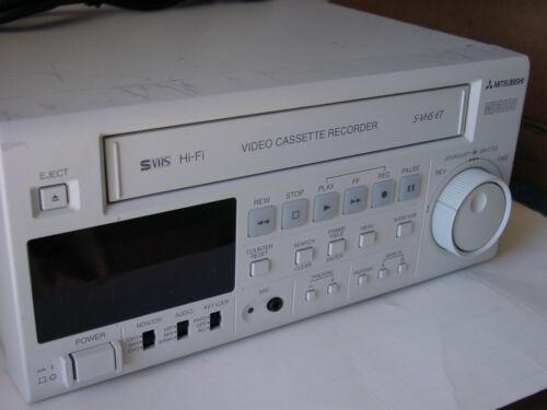 Mitsubishi HS-MD3000U SVHS ET Hi-Fi PRO Medical Video Cassette Recorder - MD3000