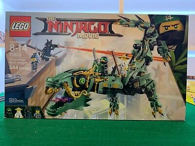 LEGO 70612 2017 Green Ninja Mech Dragon NEW Ninjago Movie Lloyd