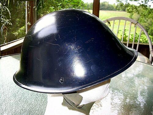 MarK IV British Military Steel Turtle Shell Helmet 1953 Korea, Ireland, UK
