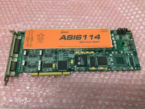 AudioScience ASI6114 AES Digital & Balanced Analog Multichannel Audio Broadcast