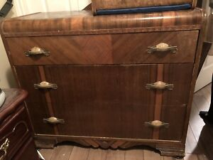Antique 4 Piece Dresser Set