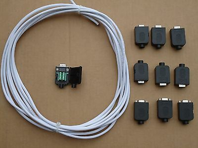 Gecko G540 Cnc 3 184 Pro Shielded Cables And Solder Less Female Connectors
