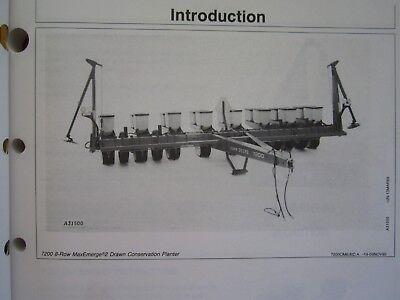 John Deere 7200 Maxemerge 2 Conserv. 6 Wide 8 Narrow Planter Operators Manual