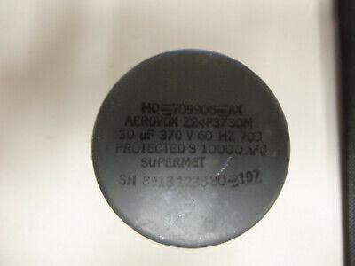 Aerovox Capacitor Z24p3730m 30uf 370v 60hz----used