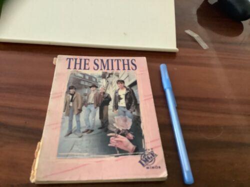 THE SMITHS VINTAGE PHOTO BOOK from TURKEY ! PHOTOS ALBUMS LYRICS