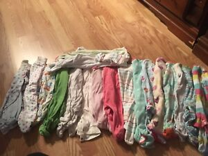 0-3 month baby girl lot