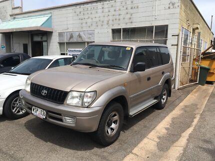 2002 Toyota GXL Prado Dual Fuel Automatic Edwardstown Marion Area Preview