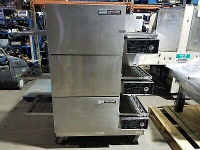 Lincoln Impinger Triple Stack Pizza Conveyor Oven 1132