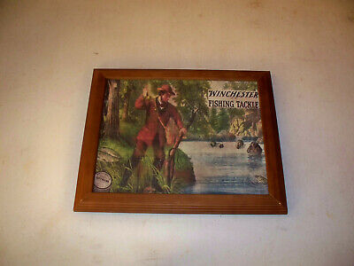 Winchester Fishing Lures Fishing Tackle Advertising Print