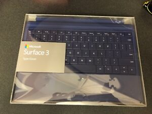 Microsoft Surface 3 - type cover.  Blue