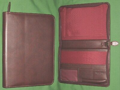 Desk Note Pad Leather Day Timer Planner Spiral Cover Classic Franklin Covey