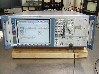Rohde Schwarz Rs Smu200a Vector Signal Generator 3ghz Opt B10 B13 B14 B17