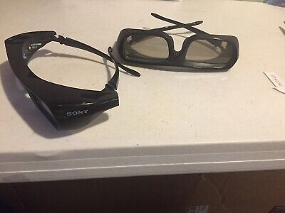 Used 2 Pair (priced Per Pair)Original FP 1923w Sony 3D Active Glasses For TV