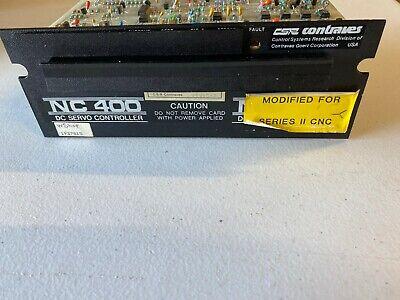 Contraves Nc 400 Dc Servo Drive Model Faa1520-798 For Bridgeport Series Ii