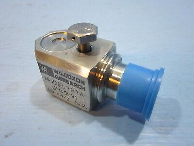 New Wilcoxon Research 787a Wr Accelerometer 100mvgnom 787 A Plc Module