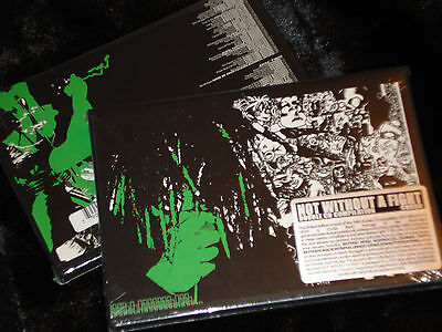 NOT WITHOUT A FIGHT compilation 2xCD+ZINE bastard noise depressor unholy grave