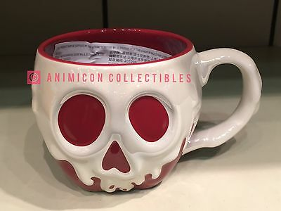 Disney Parks POISONED APPLE SCULPTURED MUG 14 oz. Cup Snow White Store Poison