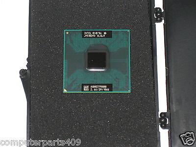 NEW Intel Core 2 Duo P8800 Laptop CPU 2.66GHz 3M 1066 Dual-Core Processor R149P