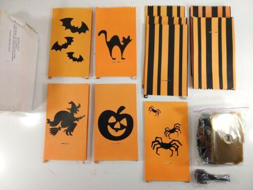 Vtg Halloween Lillian Vernon Luminaries Lot of 10