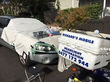 Richard's Mobile Headlight Restoration Annandale Leichhardt Area Preview