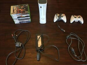 Xbox 360 (with every cord)