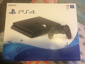 PS4 New 1TB Slim Console OBO