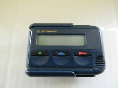 Motorola Mini Call Alphanumeric Pager -  Mercury with Holster