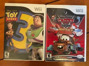 Wii games: Toy Story 3 and Cars Toon game