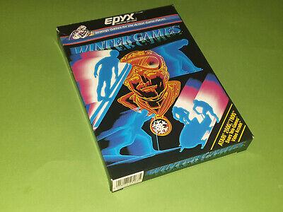 Atari 2600 VCS Game Box - Winter Games *No Game*