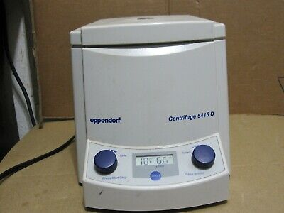 Eppendorf 5415d Centrifuge With Rotor F45-24-11