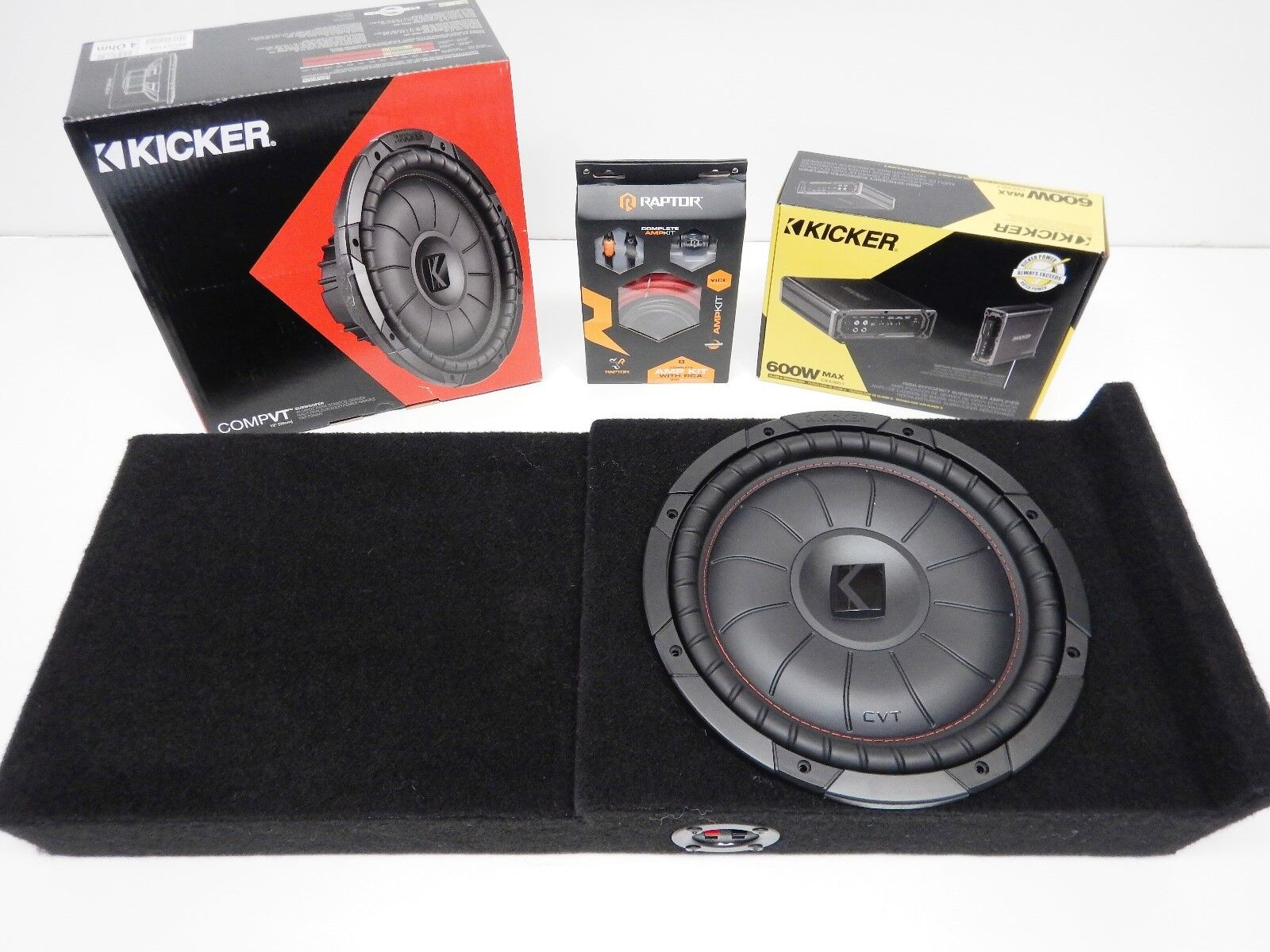 Details about 2004-2008 Ford F150 Crewcab Kicker Subwoofer Amp box on
