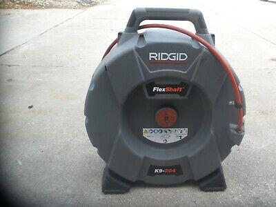 Ridgid K9-204 Flex Shaft Drain Cleaning Machine