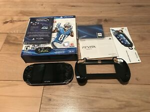 Playstation Vita OLED, 8GB and Firmware 3.60 with 2 games
