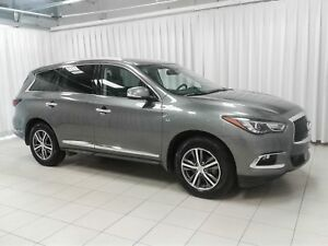 2017 Infiniti QX60 PREMIUM 7PASS, LEATHER , SUNROOF, NAVIGATION,