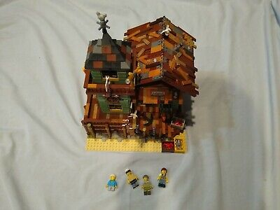 LEGO Ideas Old Fishing Store 2017 (21310) 100% Complete