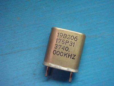 1 Ge 19b206175p3 3740.000khz Vhf Lo-band Crystal Oscillator Vintage Audio