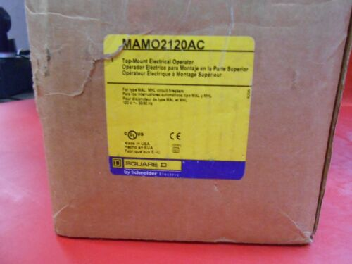MAMO2120AC SQUARE D TOP-MOUNT ELECTRICAL MOTOR OPERATOR 120V - NIB