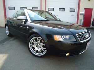 2006 Audi S4 Cabriolet, AWD Quattro, Fully LOADED, NAV, Heated