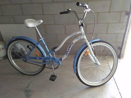 Ladies retro bicycle