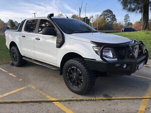 2014 Ford Ranger Xls 3.2 (4x4) 6 Sp Automatic Dual Cab Utility