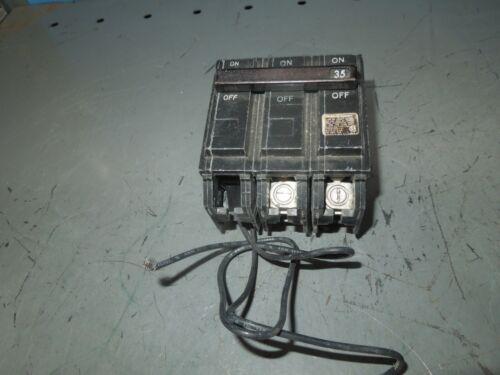 Ge Thqb2135st1 35a 2p 240v Shunt Trip Circuit Breaker (tqst1) Mod 2 Used
