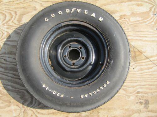 Mopar GoodYear Poyglass Tire 1970