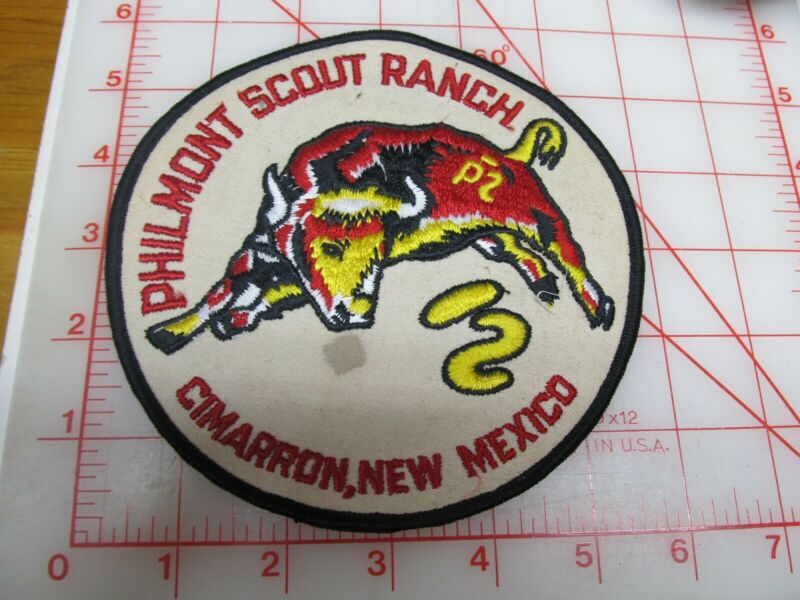 Philmont collectible jacket patch (g48)