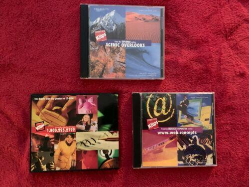 Comstock Klips - Lot 3 CDROMs - 100 photos per disc - royalty free photography