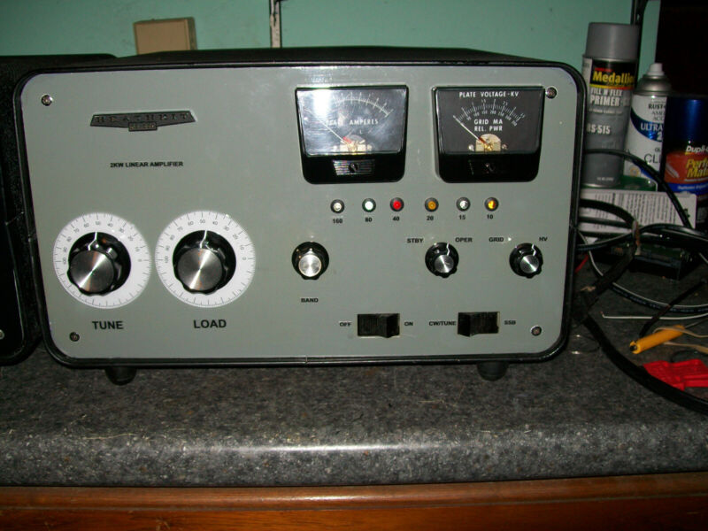 HEATHKIT SB-220 Amplifier with 160m band added